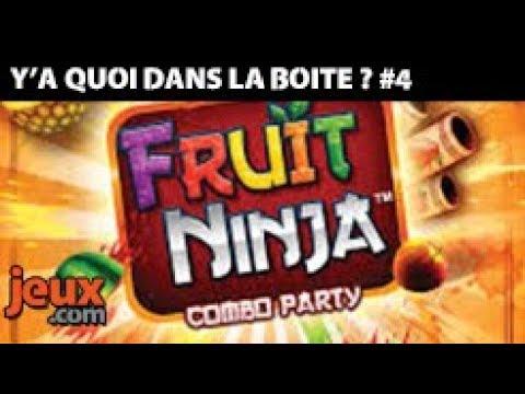 Unboxing du jeu de société Fruit Ninja Combo Party - Y'a quoi dans la boîte ?