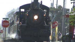 HD Steam Train Ride (45 min)