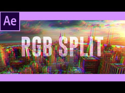 RGB Split Effect | After Effects Tutorial + Free Preset