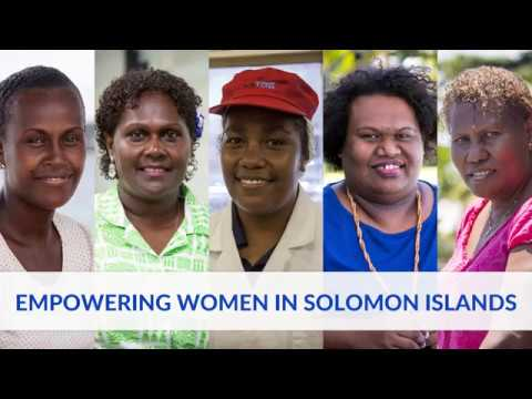 Empowering women in Solomon Islands
