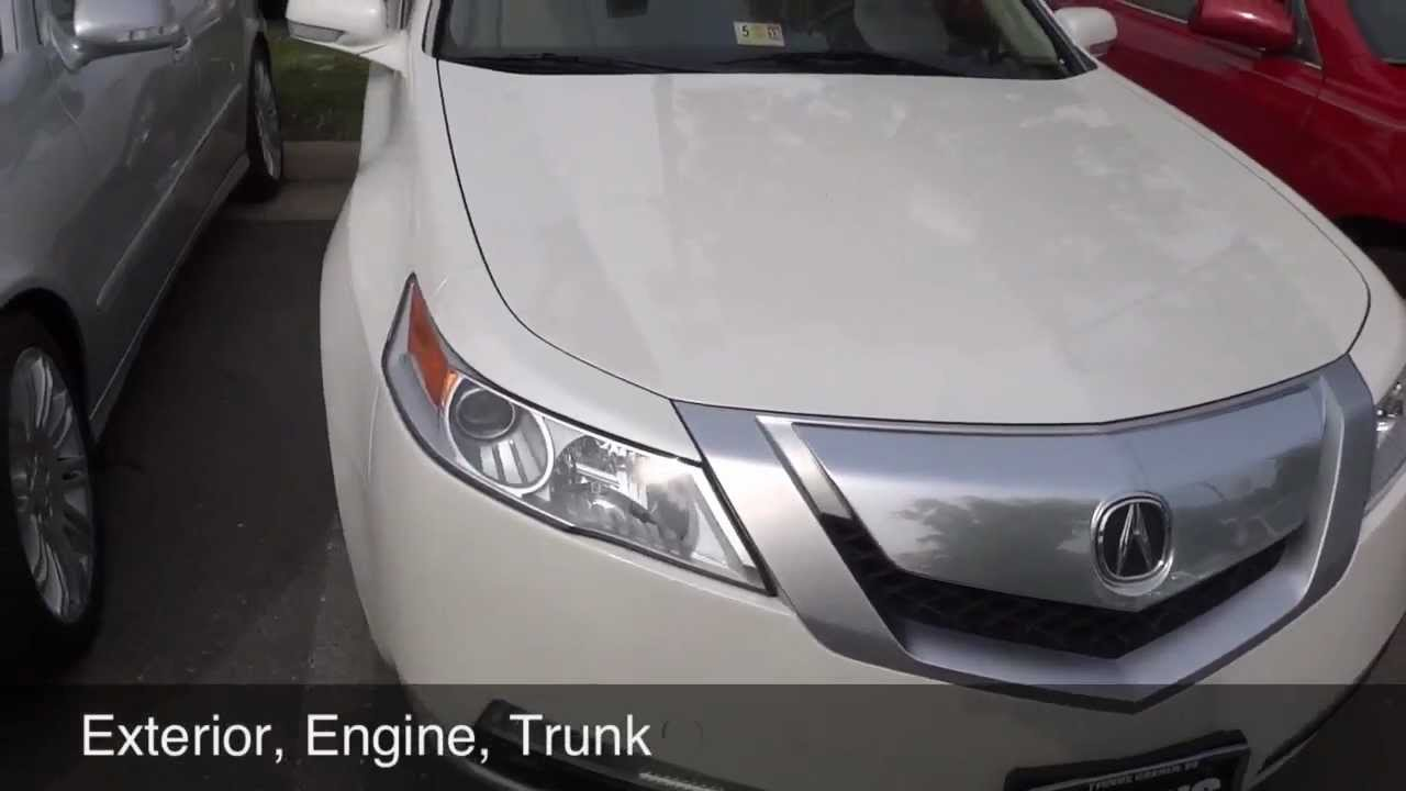 2009 acura tl review youtube