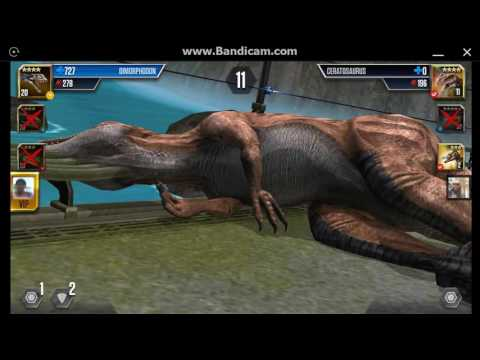 Jurassic World: The Game - Player Duel Battle 573 - TANYCOLAGREUS!
