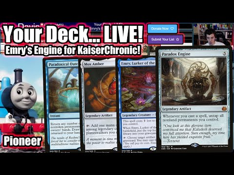 Your Deck... LIVE! Pioneer Emry's Engine For KaiserChronic - Let's Combo With Paradox Engine!
