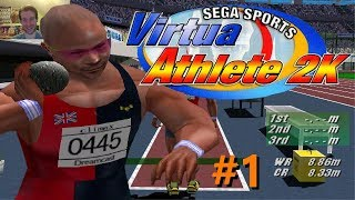 GOING FOR GOLD | Virtua Athlete 2K #1 | Sega Dreamcast Game
