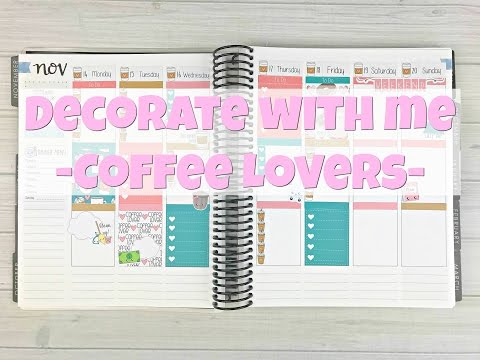 Decorate With Me - Coffee Lovers