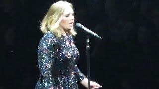 Adele - Water Under The Bridge (Glasgow 25/03/16)