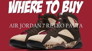 b1fbc7596b JORDAN 7 PATTA | HOW TO COP | AIR JORDAN 7 RETRO PATTA | PATTA x