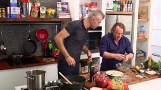 San Remo Lamb And Pea Meatballs | Good Chef Bad Chef S7 E41