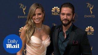 Heidi Klum gets close to boyfriend Tom Kaulitz at 2018 Emmys