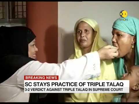This is what Salman Khurshid said after Triple Talaq Verdict