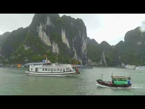 Vietnam - Halong Bay. It`s rain again