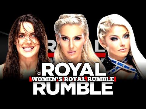 WWE Women's Royal Rumble 2020 Entry Predictions & Order!!