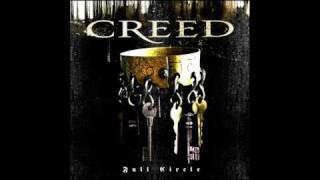 Creed  - Away In Silence (w/ lyrics)