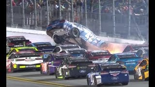 2017 Coke Zero 400 at Daytona - Big Wreck #2
