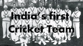 India's first cricket team 1932