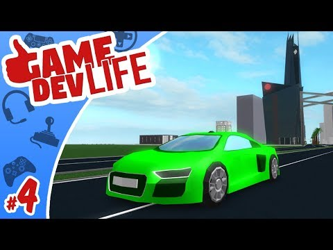 Game Dev Life #4 - BRAND NEW BUGATTI!! | Roblox