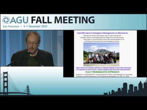 U44B. Communicating Geohazard Risk Assessments - 2012 AGU Fall Meeting