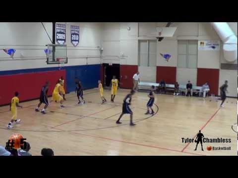 "Tyler Chambless, Junior AAU Basketball Highlights, Class of ""2013"",Brantley County High School"