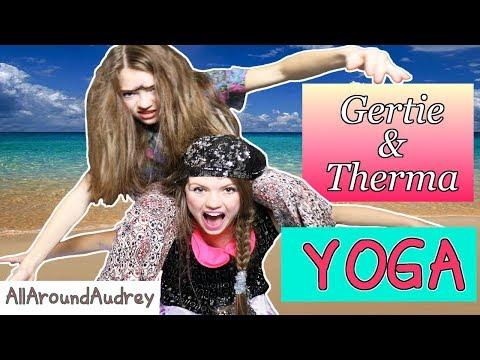 GERTIE AND THERMA YOGA CHALLENGE / AllAroundAudrey