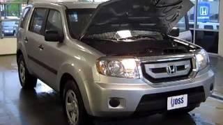 Gambar cover 2011 Honda Pilot LX 4WD  Video Demo from Voss Honda. 155 South Garber Drive, Tipp City OH 45371 www.