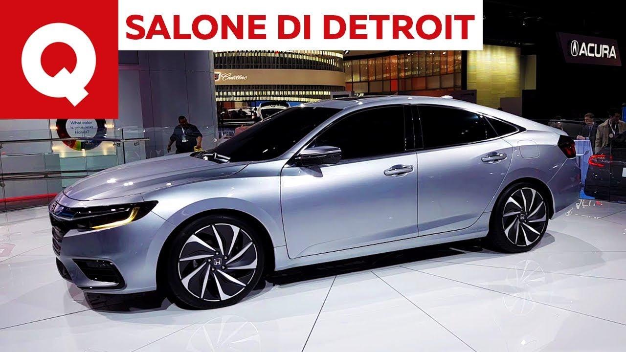 La Nuova Honda Insight Al Salone Di Detroit 2018