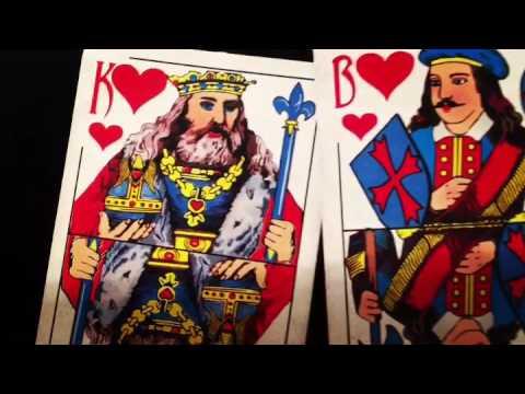 Игральные карты. Масть Червы.