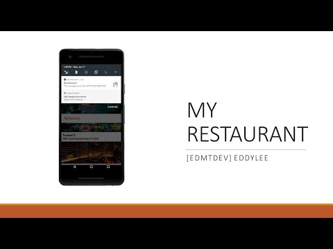 Android Development Tutorial - My Restaurant Part 25 Sync Token and  Notification Staff App