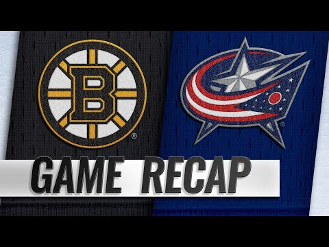 Jenner's hat trick lifts Blue Jackets by Bruins, 7-4