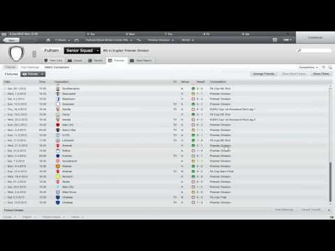 FM12 : Fulham FC ep.4 - the anti-climax