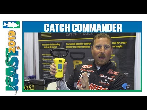 Catch Commander Digital Scale With Bryan Thrift | ICast 2019