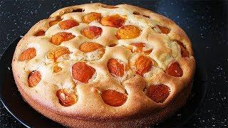 Абрикосовый Пирог. Потрясающе Вкусный. Очень Легкий Рецепт