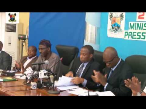 MINISTRY OF ENVIRONMENT 2014 MINISTERIAL PRESS BRIEFING
