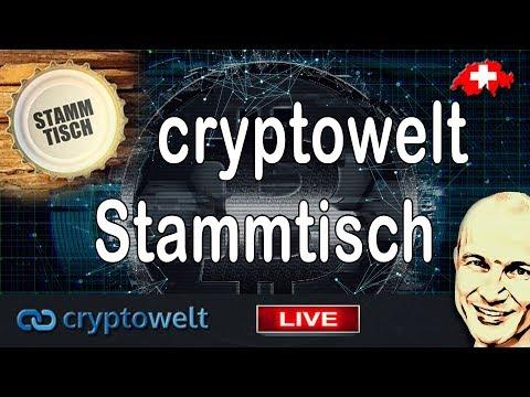 cryptowelt Stammtisch - Nummer 1 - Unterhaltung mit der Community - Fragen und Antworten