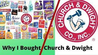 STOCKS IM BUYING (Why Im Buying Church & Dwight Co)