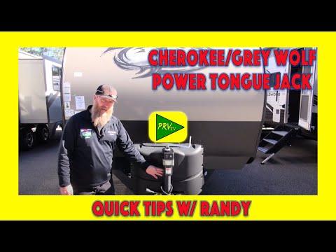 Pete's RV Quick Tips   Cherokee/Grey Wolf Power Tongue Jack