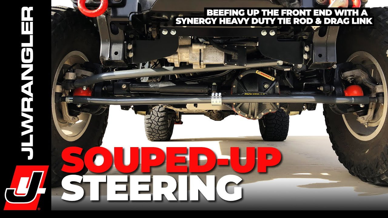 Jeep Steering Stabilizer >> Jeep JL Wrangler Steering Tie Rod / Drag Link and ...