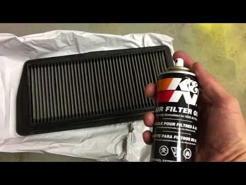 How to Clean and Recharge a K&N Air Filter