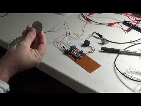Arduino BFO metal detector