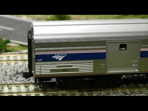 5 minute Review: Kato HO Amtrak Baggage Car in Phase IVb