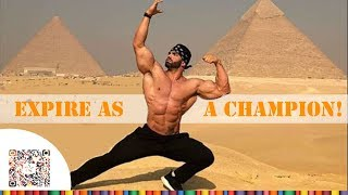 EXPIRE AS A CHAMPION! - Aesthetic Fitness Motivation