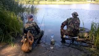 Богатый улов на двоих: тихая охота на Летнем озере в Калининграде(, 2015-07-09T20:32:24.000Z)
