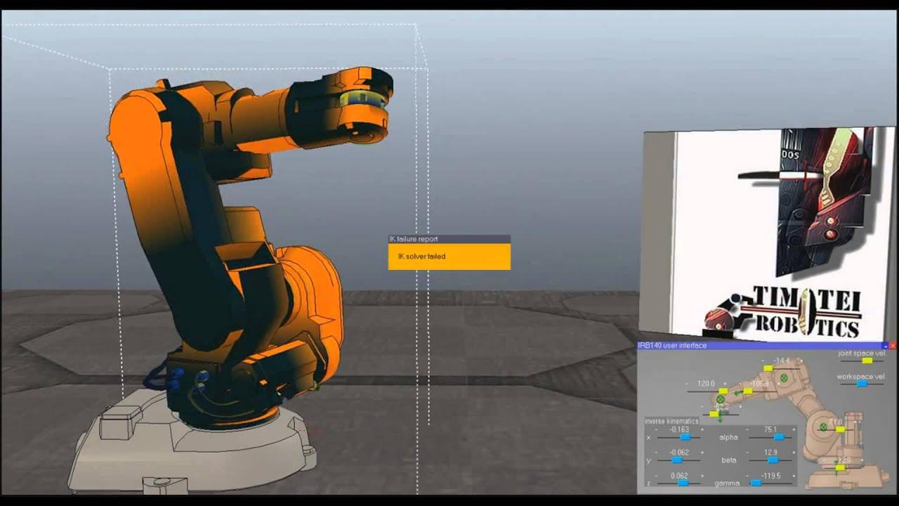 ROS Os Gazebo (Robot Operation System) ABB Industrial Robot - Timotei  Istvan Erdei