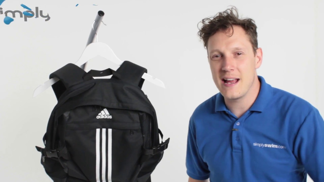fb439957fb Adidas Power III Backpack - Black and White - www.simplyswim.com ...