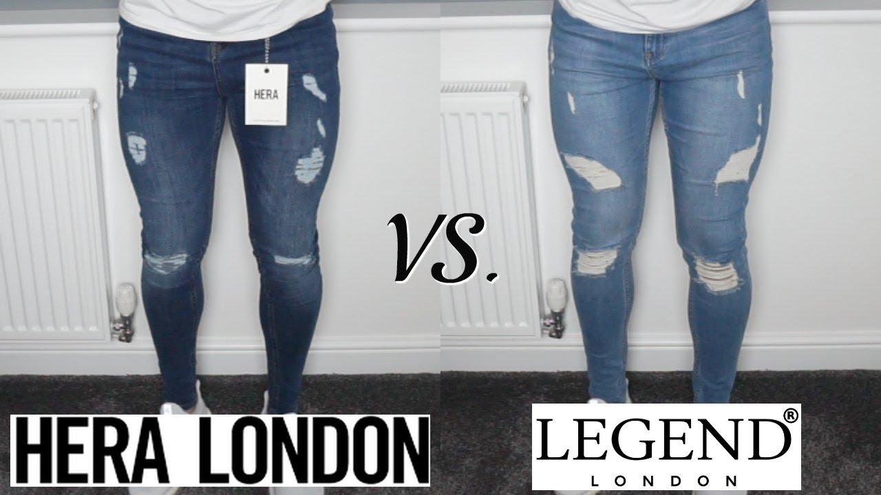 Best Fitting Skinny Jeans For Men Hera London Vs Legend London