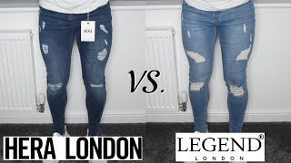 Best Fitting Skinny JEANS For Men (Hera London vs. Legend London)