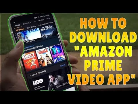 How to download movies from amazon prime videos