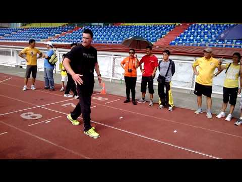 Prolific Athletes Sprint Seminar   Accelaration Stride1