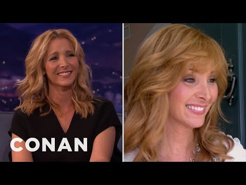 Lisa Kudrow On The Origin Of Valerie Cherish's Name  - CONAN on TBS