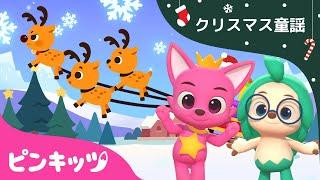 はしれ トナカイ | ピンキッツとホギと一緒に | 3Dリトミックダンス | ダンスダンス | クリスマスソング | ピンキッツ童謡