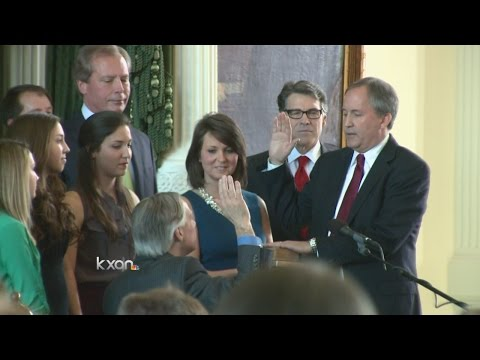 Ken Paxton sworn in as new Texas Attorney General